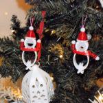 てるてるクリップ サンタ クリスマス仕様